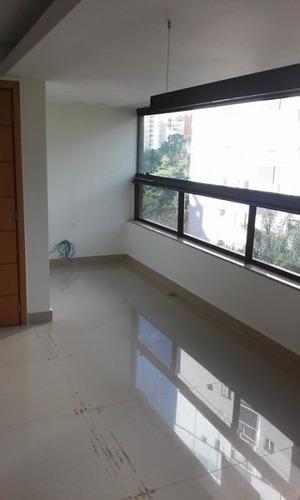 apartamento com 3 quartos no bairro sion. - 1211