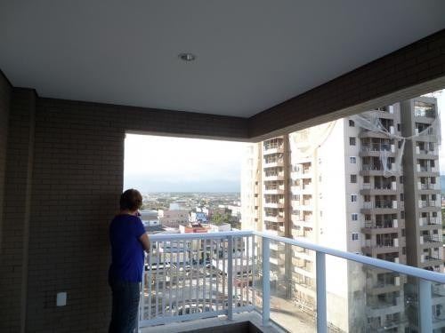apartamento com 3 quartos no centro de itanhaém - 6795 npc