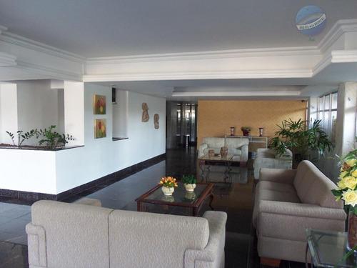 apartamento com 3 quartos no tirol, 204m² - ap0103