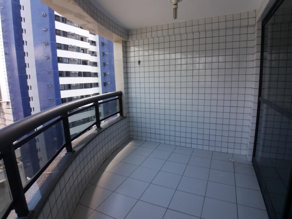 apartamento com 3 quartos para alugar, 98 m² por r$ 3.137/mês - boa viagem - recife/pe - ap0533