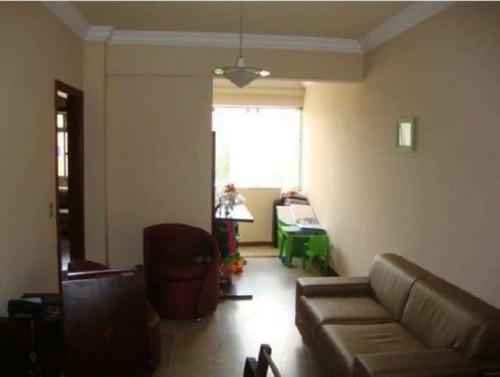 apartamento com 3 quartos para comprar no caiçaras em belo horizonte/mg - 855