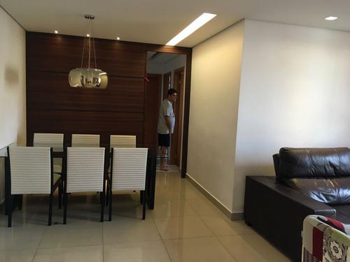 apartamento com 3 quartos para comprar no castelo em belo horizonte/mg - 1316