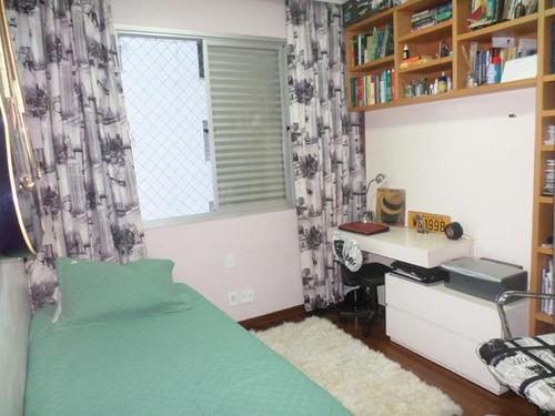 apartamento com 3 quartos para comprar no lourdes em belo horizonte/mg - 889