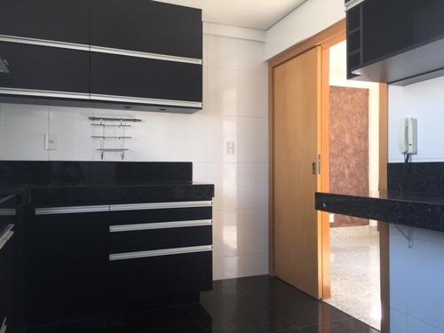 apartamento com 3 quartos para comprar no santo antônio em belo horizonte/mg - 1110