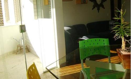 apartamento com 3 quartos para comprar no sion em belo horizonte/mg - 505