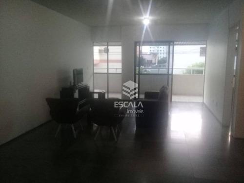 apartamento com 3 quartos para venda e locação, 240 m², área de lazer - cocó - fortaleza/ce - ap1687