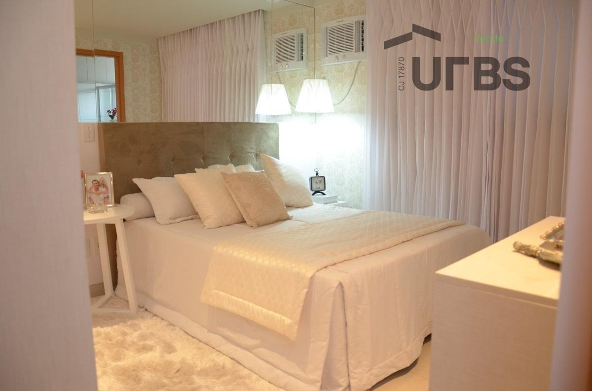 apartamento com 3 quartos parque amazônia - ap2880