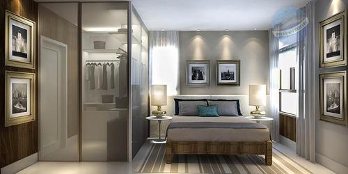 apartamento com 3 quartos, sendo um suíte, pertinho da prudente de morais - spazzio verdi - ap0022