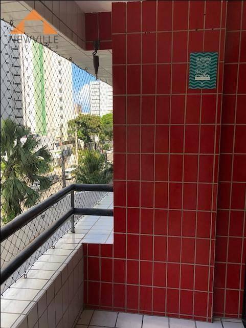 apartamento com 3 quartos à venda, 105 m² por r$ 544.999,00 - boa viagem - recife/pe - ap2056