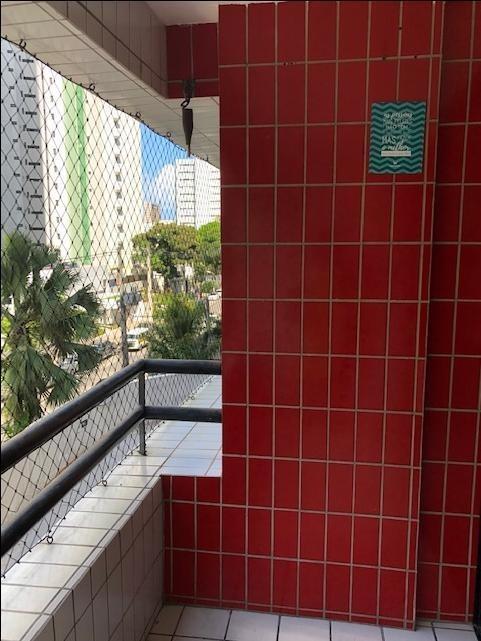 apartamento com 3 quartos à venda, 105 m² por r$ 545.000 - boa viagem - recife/pe - ap2056