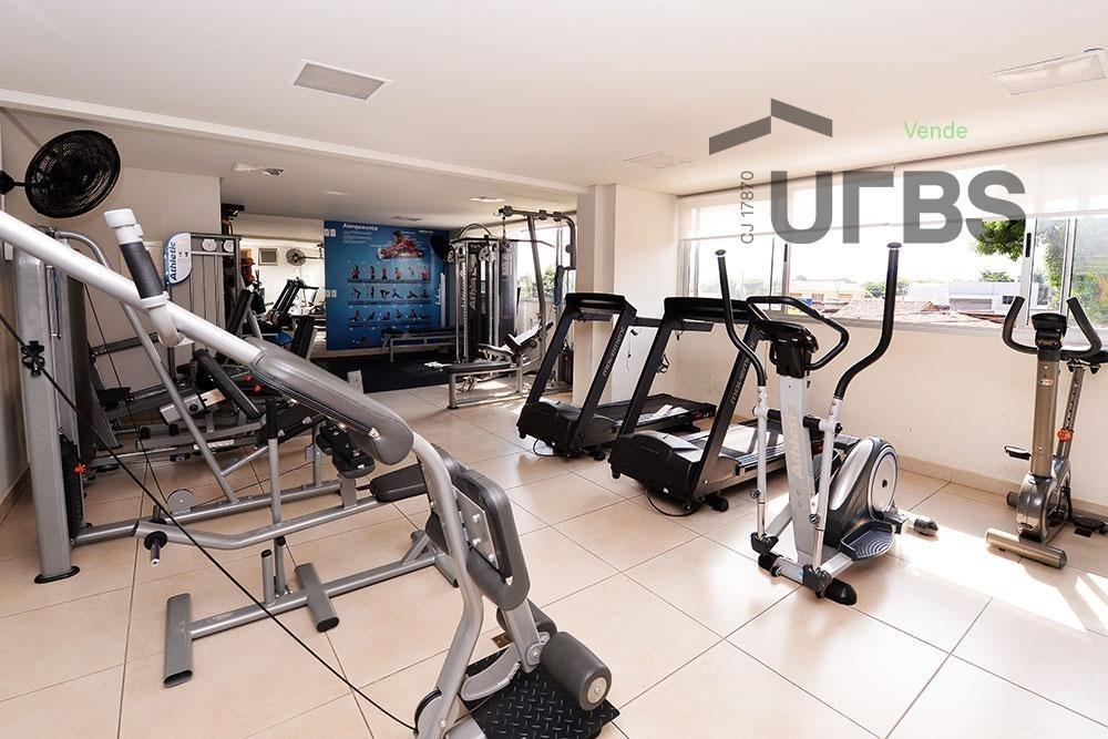 apartamento com 3 quartos à venda, 65 m² por r$ 237.250 - parque amazônia - goiânia/go - ap2864