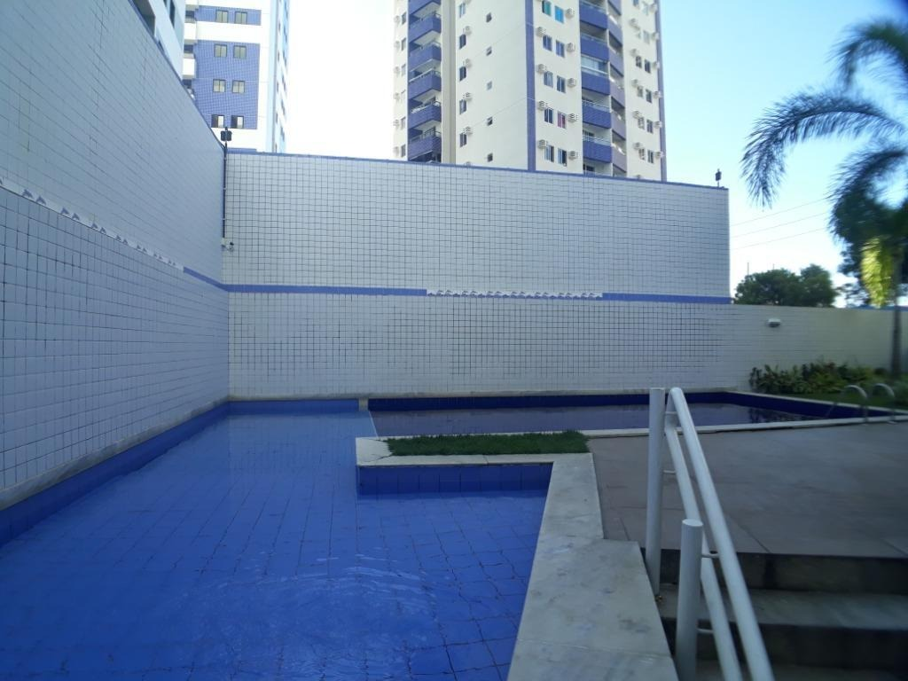 apartamento com 3 quartos à venda, 72 m² por r$ 350.000 - pina - recife/pe - ap2063