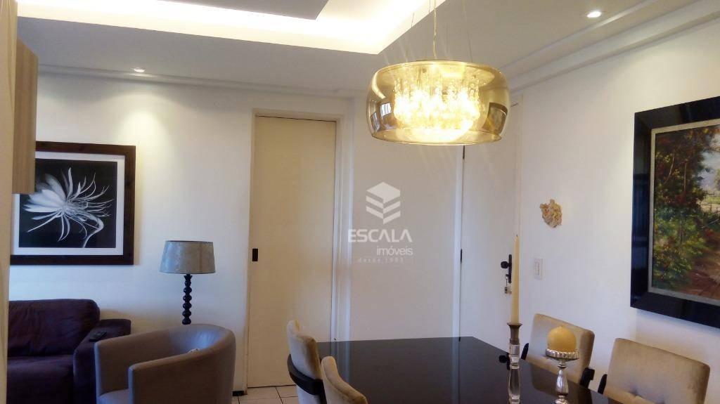apartamento com 3 quartos à venda, 87 m², andar alto, 2 vagas, financia - meireles - fortaleza/ce - ap1711