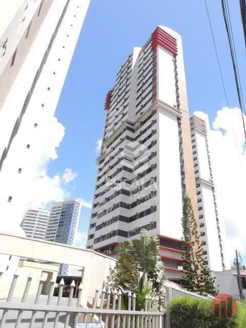 apartamento com 3 quartos à venda, 91 m², vista para o cocó, financia - cocó - fortaleza/ce - ap1705