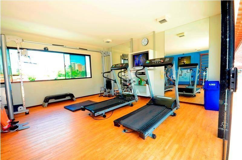 apartamento com 3 quartos à venda, 94 m², andar alto, perto da praia, financia - varjota - fortaleza/ce - ap1709