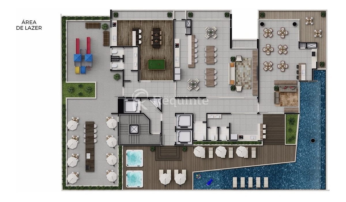 apartamento com 3 suítes alto padrão em itapema - 1851