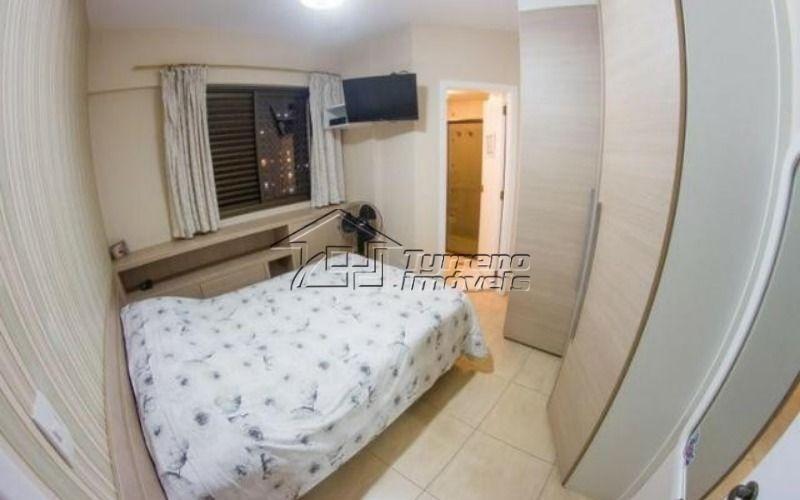 apartamento com 3 suítes e andar alto na vila adyana
