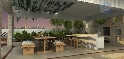 apartamento com 3 suítes em capim macio, a poucos metros de ponta negra - royal palms - ap0020