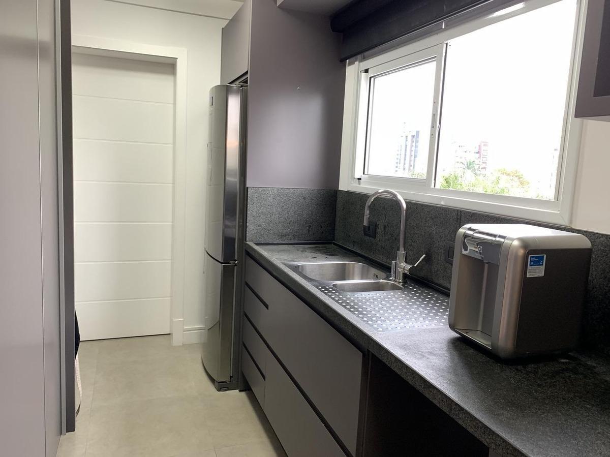 apartamento com 3 suítes, mobiliado e equipado na região da alameda (jardim blumenau) - ap2822
