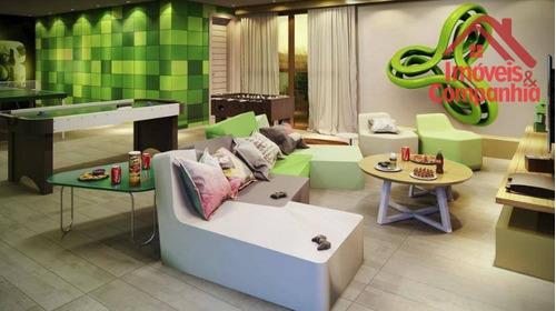 apartamento com 3 suítes à venda, 112 m² - joaquim távora - fortaleza/ce - ap1574