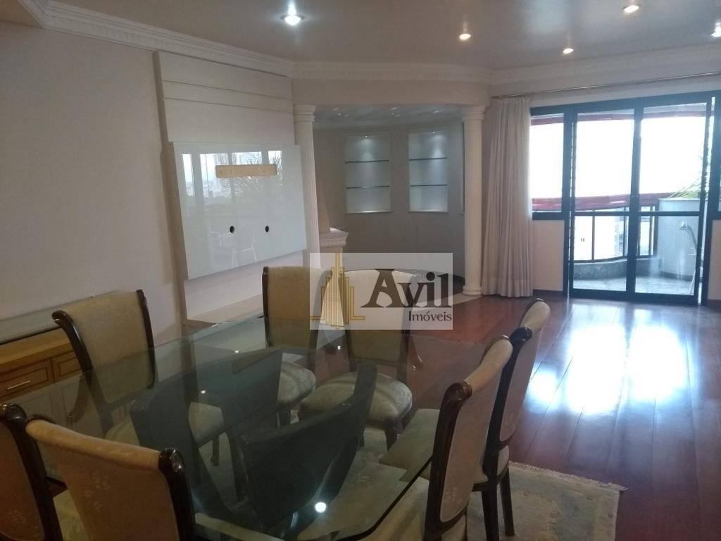 apartamento com 3 suites à venda, 155 m² por r$ 1.300.000 - jardim anália franco - são paulo/sp - ap2192