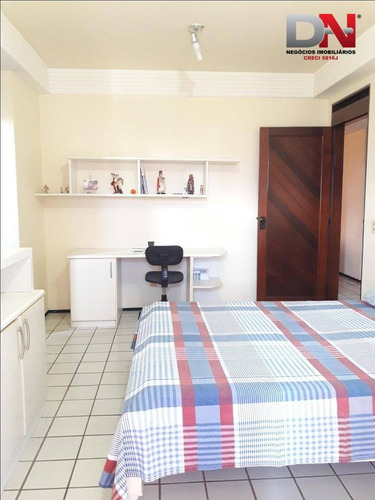 apartamento com 3 suites à venda, 220 m² por r$ 850.000 - candelária - natal/rn - ap0274