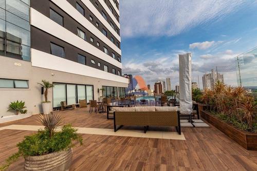 apartamento com 3 suítes à venda, 333 m² por r$ 1.000.000 - centro - ponta grossa/pr - ap0004