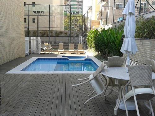 apartamento com 356 m² de área útil, 4 suítes, 6 vagas no edifício jardim villa lobos no bairro jardim em santo andré. - ap1191