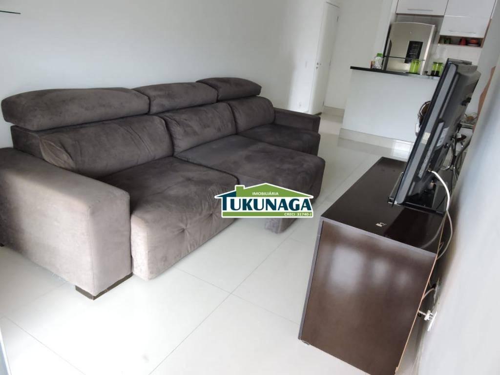 apartamento com 4 dormitórios para alugar, 103 m² - centro - guarulhos/sp - ap2064