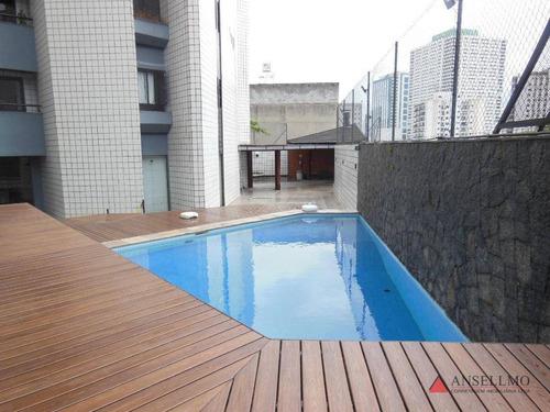apartamento com 4 dormitórios para alugar, 134 m² por r$ 1.700,00/mês - baeta neves - são bernardo do campo/sp - ap1706