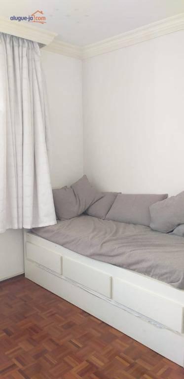apartamento com 4 dormitórios para alugar, 134 m² por r$ 2.500,00/mês - vila adyana - são josé dos campos/sp - ap7447