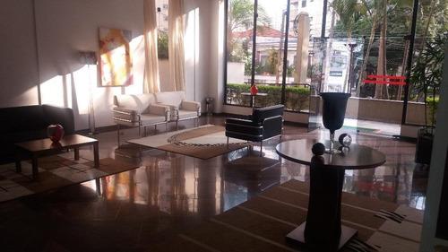 apartamento com 4 dormitórios para alugar, 185 m² por r$ 3.000,00/mês - jardim anália franco - são paulo/sp - ap1326