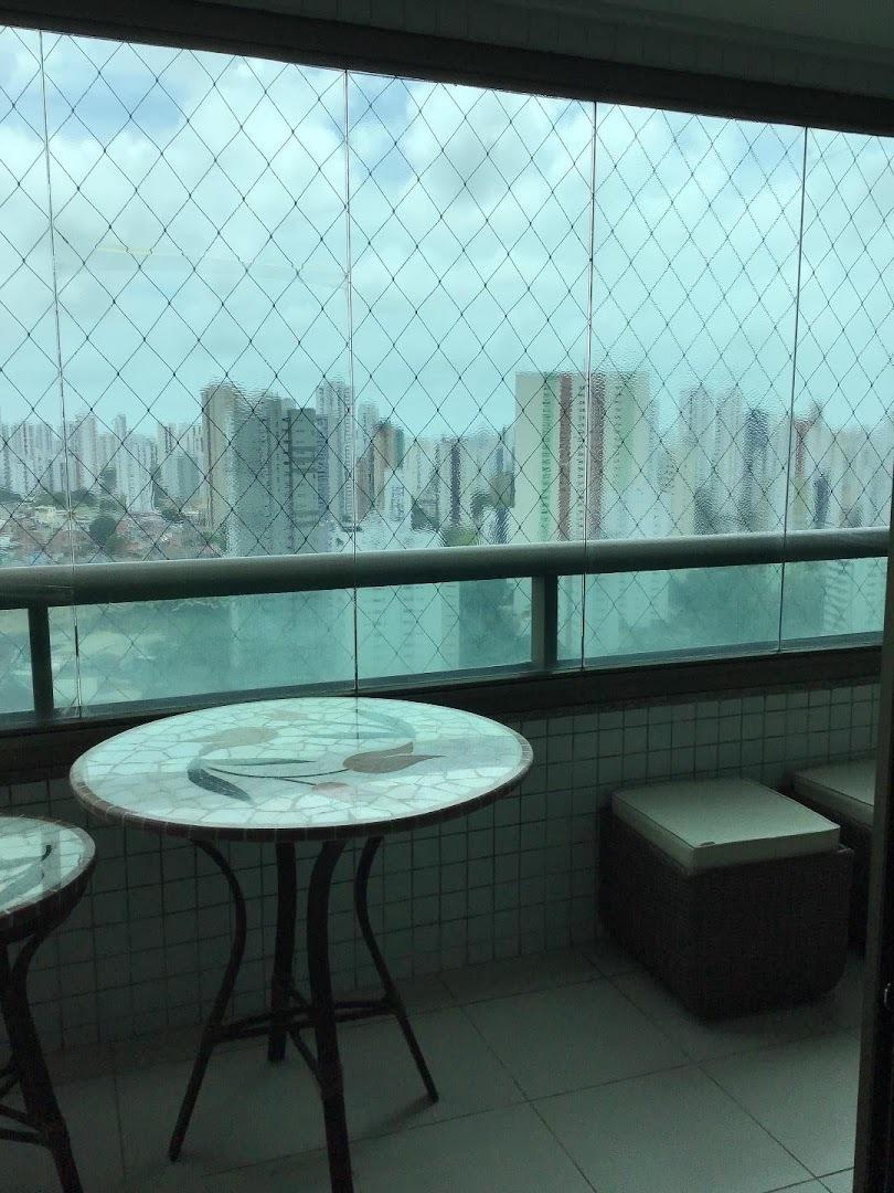 apartamento com 4 dormitórios para alugar, 190 m² por r$ 3.250/mês - casa forte - recife/pe - ap9324