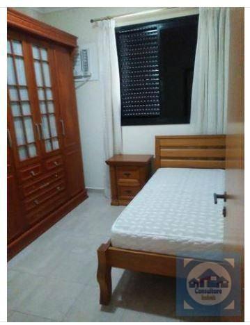 apartamento com 4 dormitórios para alugar, 198 m² por r$ 5.000/mês - aparecida - santos/sp - ap3730