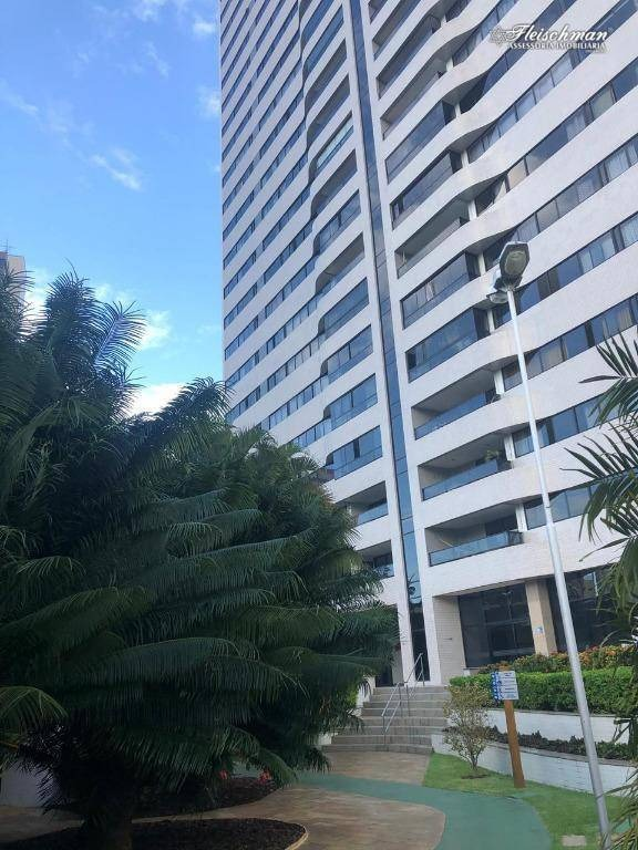 apartamento com 4 dormitórios para alugar, 200 m² por r$ 5.500,00/mês - casa forte - recife/pe - ap1630