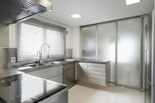 apartamento com 4 dormitórios para alugar, 345 m² por r$ 30.000/mês - moema - são paulo/sp - ap24619