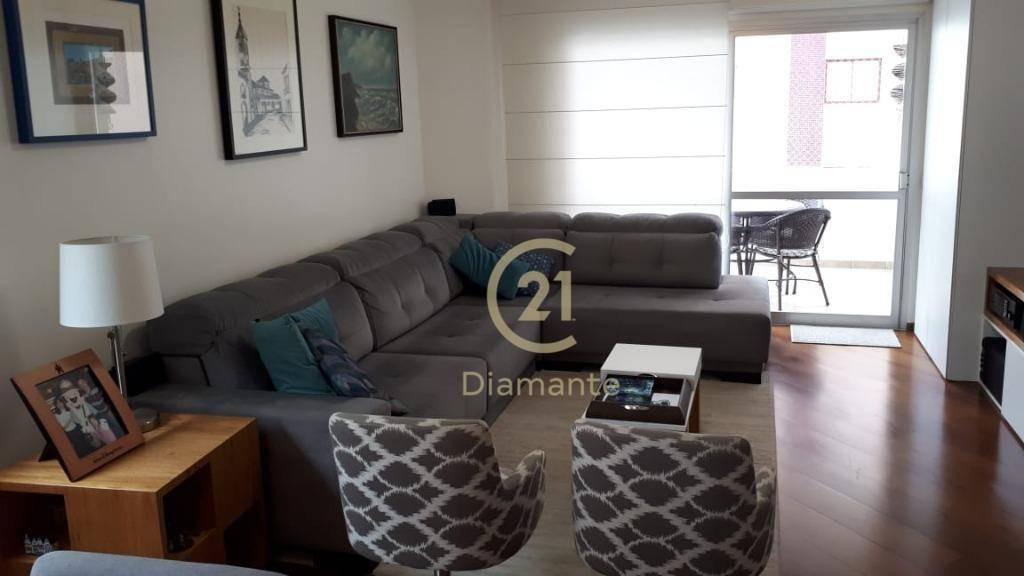 apartamento com 4 dormitórios, sendo 2 suítes, 2 garagens à venda, 167 m² por r$ 1.674.000 - brooklin paulista ! - ap7943