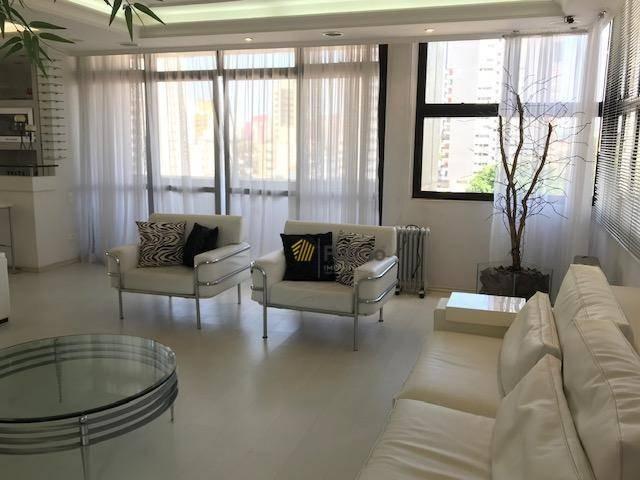 apartamento com 4 dormitórios, sendo 3 suítes, 3 salas e 3 vagas - 300 m² área útil - vila caminho do mar - são bernardo do campo/sp - ap2444