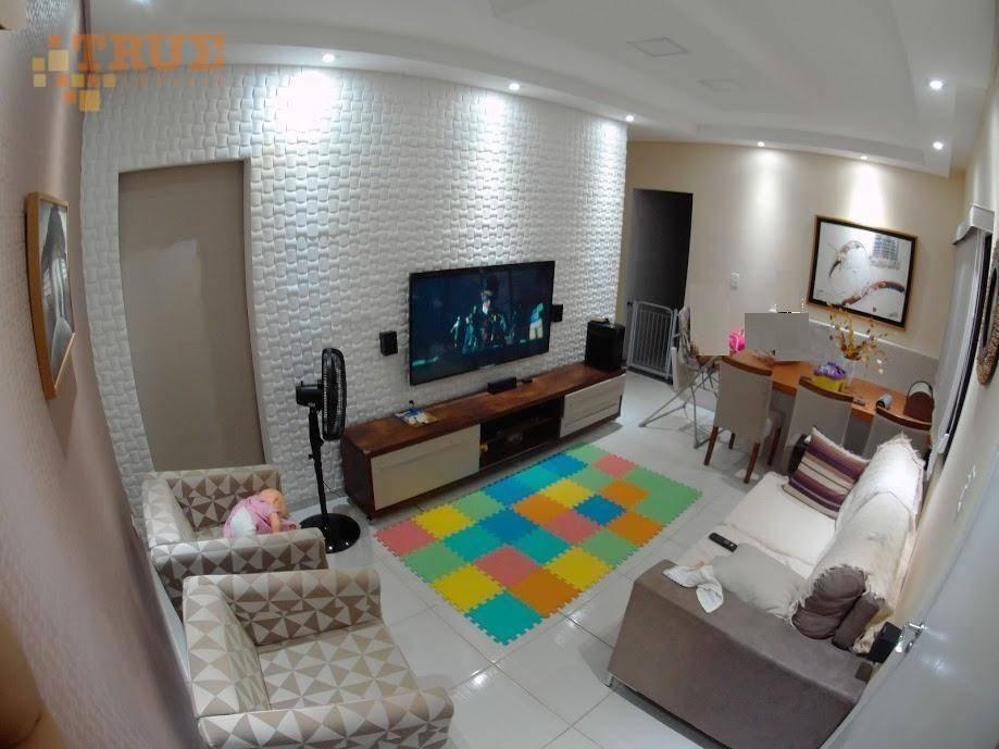 apartamento com 4 dormitórios à venda, 101 m² por r$ 305.000 - várzea - recife/pe - ap3470