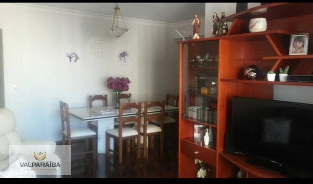 apartamento com 4 dormitórios à venda, 105 m² por r$ 477.000,00 - vila adyana - são josé dos campos/sp - ap0526