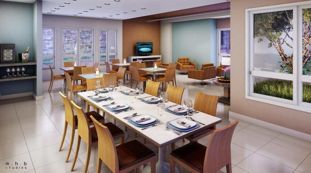 apartamento com 4 dormitórios à venda, 108 m² - centro - nova iguaçu/rj - ap0028