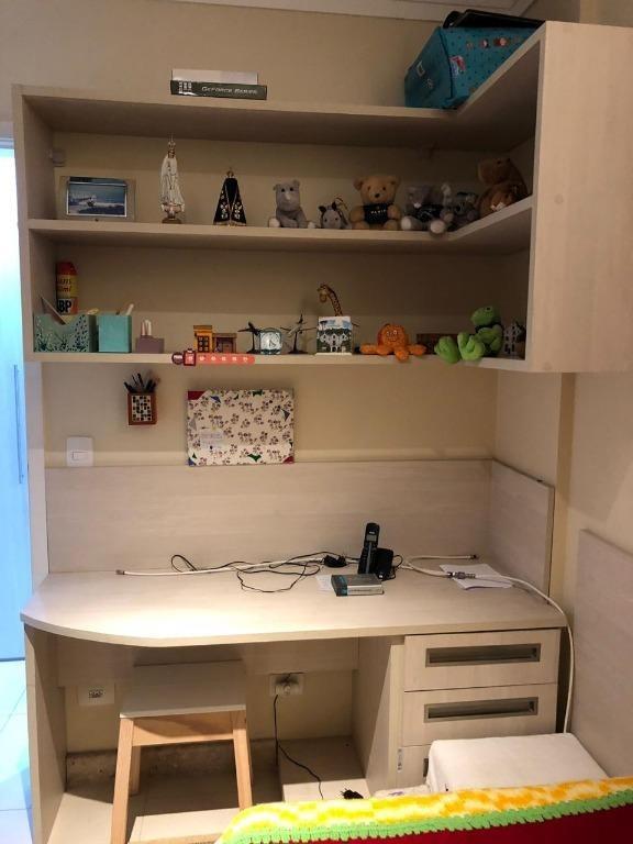 apartamento com 4 dormitórios à venda, 108 m² - vila augusta - guarulhos/sp - ap5007