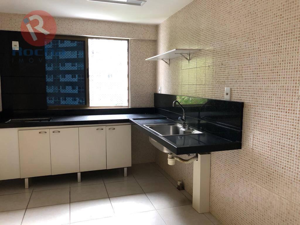 apartamento com 4 dormitórios à venda, 122 m² por r$ 700.000 - tamarineira - recife/pe - ap3264
