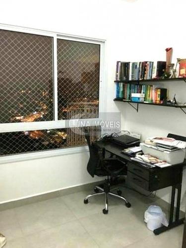 apartamento com 4 dormitórios à venda, 123 m² por r$ 804.000 - centro - são bernardo do campo/sp - ap1393