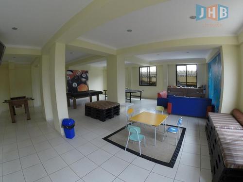 apartamento com 4 dormitórios à venda, 124 m² por r$ 630.000 - jardim satélite - são josé dos campos/sp - ap1808