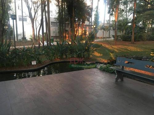 apartamento com 4 dormitórios à venda, 126 m² por r$ 790.000 - jardim wanda - taboão da serra/sp - ap2422
