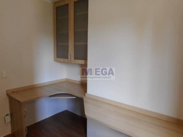apartamento com 4 dormitórios à venda, 130 m² por r$ 750.000,00 - mansões santo antônio - campinas/sp - ap2788