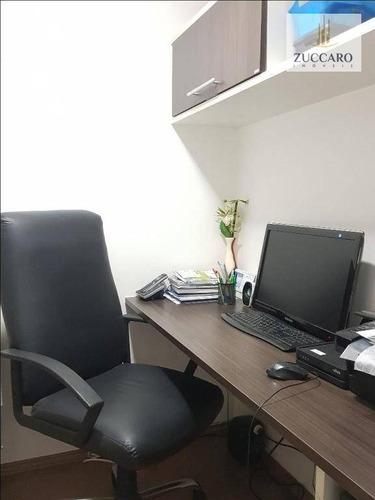 apartamento com 4 dormitórios à venda, 134 m² por r$ 920.000,00 - macedo - guarulhos/sp - ap12091