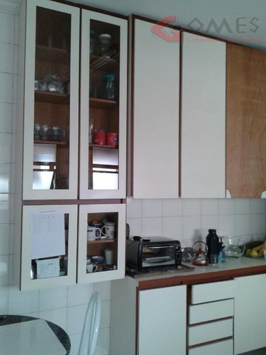 apartamento com 4 dormitórios à venda, 140 m² por r$ 600.000,00 - jardim do mar - são bernardo do campo/sp - ap1877