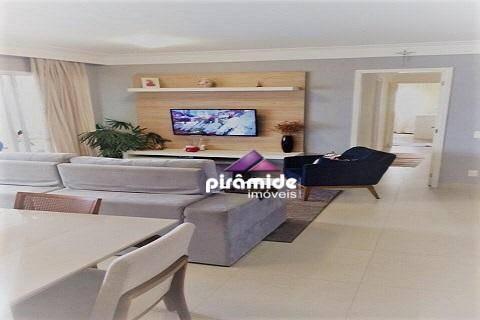 apartamento com 4 dormitórios à venda, 147 m² por r$ 835.000 - vila ema - são josé dos campos/sp - ap9980